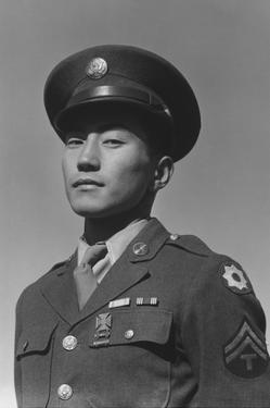 Corporal Jimmy Shohara by Ansel Adams