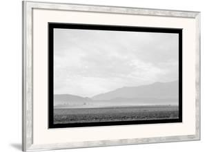 Dust Storm over the Manzanar Relocation Camp by Ansel Adams