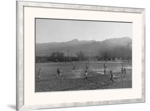 Football Practice by Ansel Adams