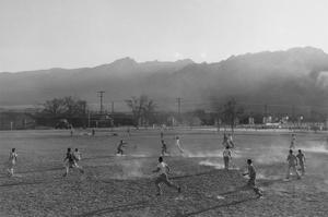 Football Practice by Ansel Adams