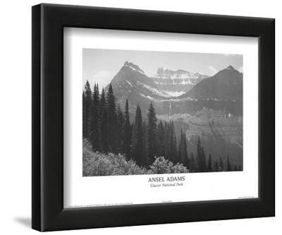 Glacier National Park by Ansel Adams