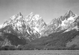 Grand Teton National Park by Ansel Adams