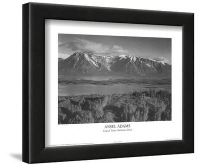 Grand Teton National Park by Ansel Adams