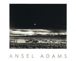 Moonrise, Hernandez by Ansel Adams