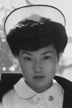 Nurse Aiko Hamaguchi by Ansel Adams