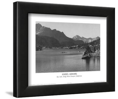 Rac Lake Kings River Canyon California by Ansel Adams