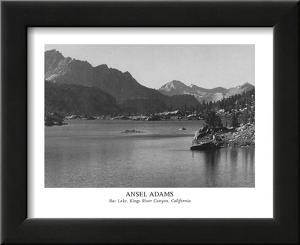 Rac Lake Kings River Canyon California by Ansel Adams