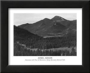 Rocky Mountain National Park by Ansel Adams