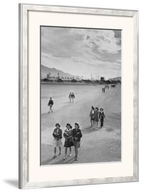 School Children by Ansel Adams