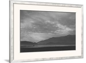 View Sw over Manzanar, Dust Storm by Ansel Adams