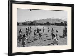 Vollyball by Ansel Adams