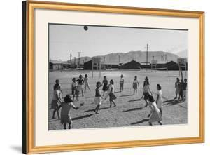 Vollyball by Ansel Adams