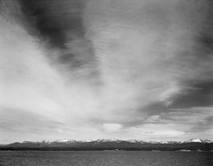 Yellowstone Lake, Yellowstone National Park, Wyoming, ca. 1941-1942 by Ansel Adams