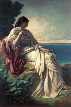 Iphigenia, 1862 by Anselm Feuerbach