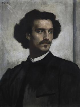 Self-Portrait, 1873 by Anselm Feuerbach