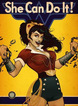 DC Bombshells Wonder Woman by Ant Lucia