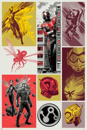 Ant-Man and the Wasp - Ant-Man and the Wasp Collage