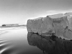 Antarctica Iceberg in the Ocean 1950s