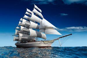 Sailing Ship by Antartis