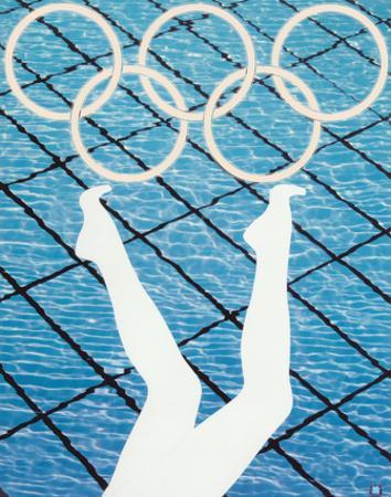 2012 Olympics -Anthea Hamilton-Divers by Anthea Hamilton