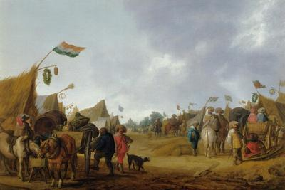 A military encampment, 1634