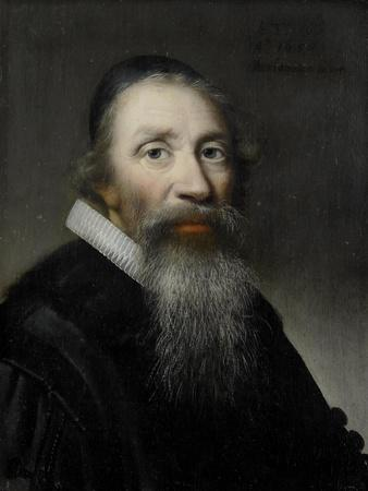 Portrait of a Man, Probably a Clergyman