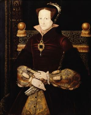 Portrait of Queen Mary I by Anthonis Mor