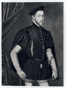Philip II of Spain by Anthonis van Dashorst Mor