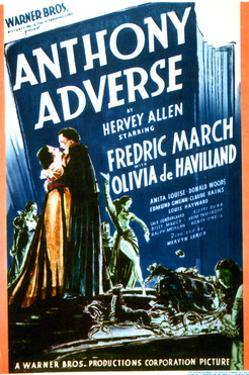 Anthony Adverse - Movie Poster Reproduction