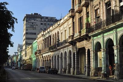 Cuba, La Havana, Havana Vieja, Old Colonial Buildings