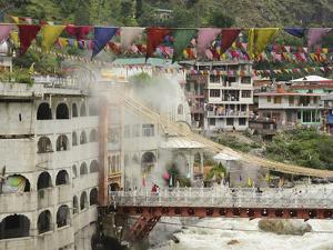 Sri Guru Nanak Ji Gurdwara Shrine, Manikaran, Himachal Pradesh, India by Anthony Asael