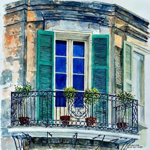 Balcony, New Orleans by Anthony Butera