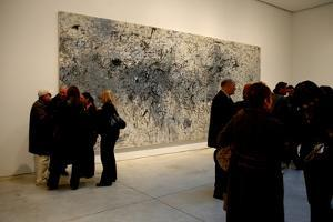 Chelsea Gallery Opening, Milton Resnick Retrospective, 2004 by Anthony Butera