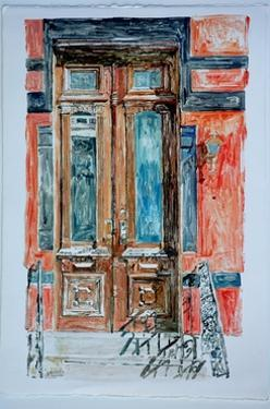 Door, East Village,1998 by Anthony Butera