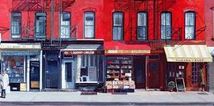 Four Shops on 11th Ave, 2003 by Anthony Butera