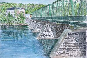 Frenchtown Bridge, 2004 by Anthony Butera