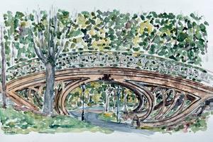 Gothic Bridge, Central Park by Anthony Butera