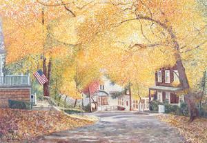 Hillside Avenue, Staten Island, 1992 by Anthony Butera