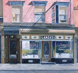Lanza's Restaurant, 11th Street, East Village, 1994 by Anthony Butera