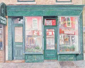 M. Goldberg Glazing, Court St. Brooklyn, New York, 1994 by Anthony Butera