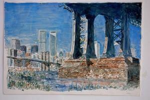Manhattan Bridge, 1997 by Anthony Butera