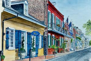 New Orleans, Street Scene, Pierre Hotel by Anthony Butera
