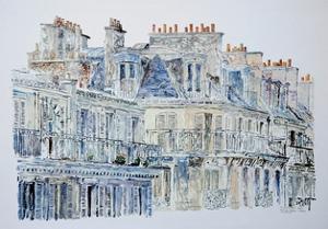 Rue du Rivoli, Paris, 1987 by Anthony Butera