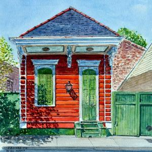Shotgun House, New Orleans by Anthony Butera