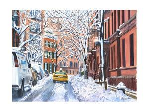 Snow, West Village, NYC, 2012 by Anthony Butera