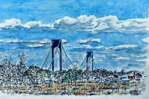 Verrazano Bridge, Staten Island by Anthony Butera