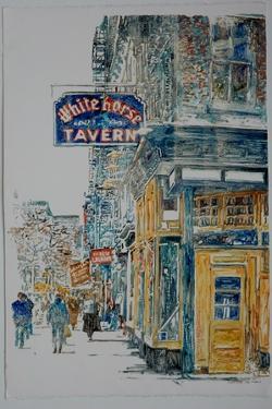 White Horse Tavern, West Village,1996 by Anthony Butera