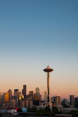 Seattle Skyline by Anthony Dell'Ario