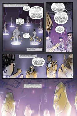 Zombies vs. Robots: Volume 1 - Comic Page with Panels by Anthony Diecidue