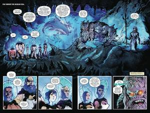 Zombies vs. Robots: Volume 1 - Page Spread with Panels by Anthony Diecidue